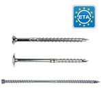 Wood construction screws PFS