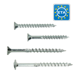 Professional wood screws HAPAX